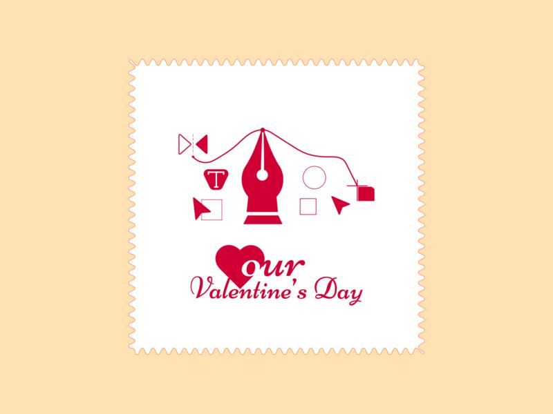Happy Valentines day february creative love valentine valentine day