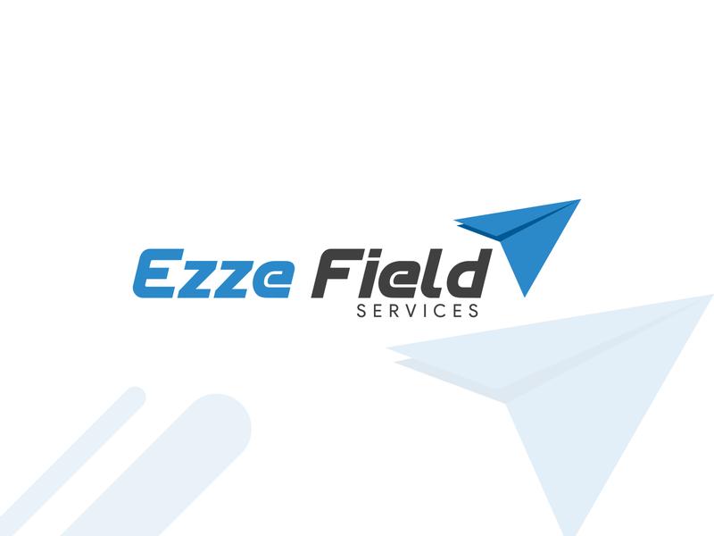 Ezze Field Logo & Letterhead Design letterhead design company logo letterpress unique design letterhead template graphic design logo graphicdesign brand and identity branding design letterhead logo