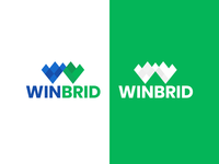 win brid logotype tech logo logo design branding logodesign icon logo logos