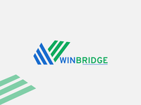 Win Bridge logoset bridge logo tech logo logos logotype logo design