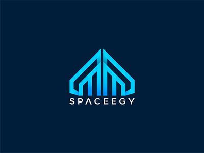 Spaceegy logo logotype abstract simple space logo tech logo logos technology logo logodesign logo design unique design logo design concept logo