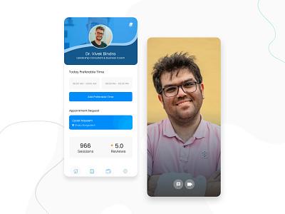 Mentor Dashboard App dashboard design ui ux app ui mentors mentoring mentorship mobile ui app dashboard