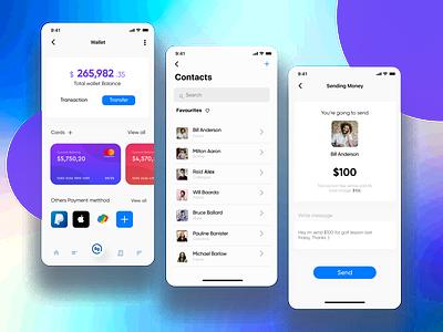 Financial App Dashboard UX Improvement iosdesign mobileuidesign ui design dashboard app dashboard financial app mobile app ux ui ui mobile ux design