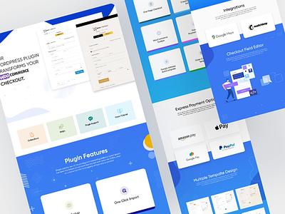 WooCommerce Checkout Plugin Codecanyon Full Presentation codecanyon ui web ui presentation plugin plugin design graphic design