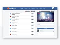 Dhakalive web Template