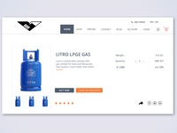 Gas cylinder Item Select Page