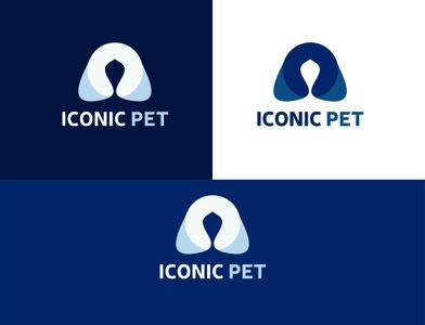 Iconic Pet Logo logos website logo icon minimalistic minimalist minimalist logo logotype cat logo pet logo animal logo unique design logodesign flat logo logo designers logo designs logo design branding logo design logo