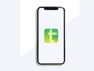 T App Icon vector branding concept logo ui apple icon design icon t letter icon app icon