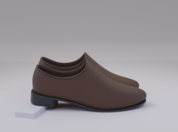 Shoe branding design 3d model blender 3d 3d artist 3d modeling shoe