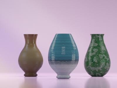 Vase 3d model blender 3d 3d artist 3d modeling vase
