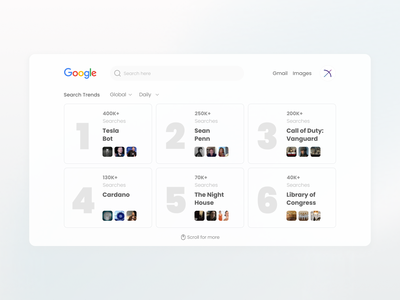 Google Trends Redesign interface numbers google trends search google trends ui