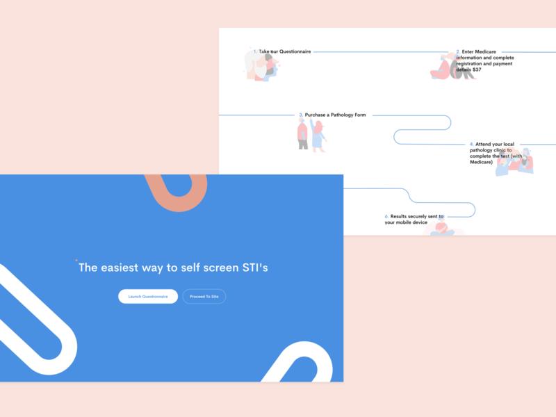 STiCK — Website illustration website web design design branding brand identity