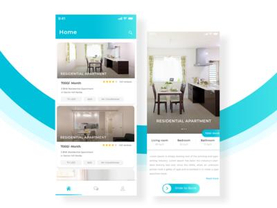 Real estate app  Ui design