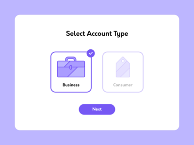Daily UI: Day 64 - Profile Type