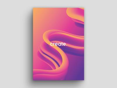 Create illustrations new create modes blend typography colour design minimal modern clean digitalart adobe illustrator art gradients illustration