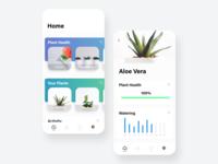 Plant App UI Concept