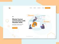 Chatbot Landing Page 🤖