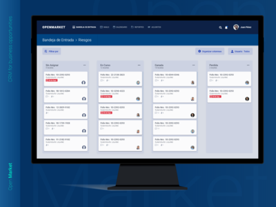 Open Market - CRM for business opportunities