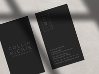 Collin Richie Photography Business Cards