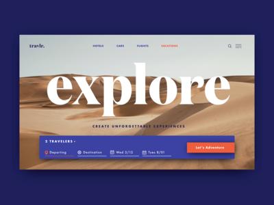 Travlr Experience Based App