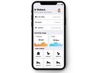 Daily UI 021 | Home Monitoring Dashboard