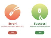 Daily UI 011 | Error/Success Message