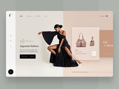 Fv Store fashion shopping design shopping app desktop shop desktop design desktop store shop design design uidesign modern clean uiux interface