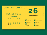 Daily UI - 80 Date Picker