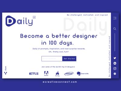 Daily UI - 100