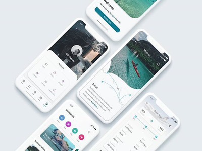 Hoolikers Travel App Concept