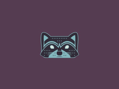 Raccoon Totem - 26/365 vector geometric new illustration design illustration symbol totem forest animals