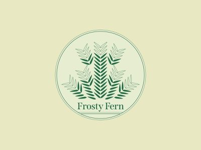 Frosty Fern - 77/365 design badge plants plant green tan