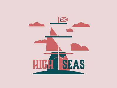 High Seas - 188/365 sailing mast sea seas ocean boat