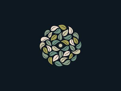 Forest Gaze - 310/365 illustration eye plants leaf leaves