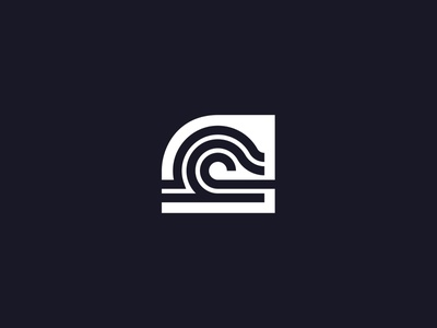 Wave Logo - 312/365 design vector sea waves ocean branding logo wave