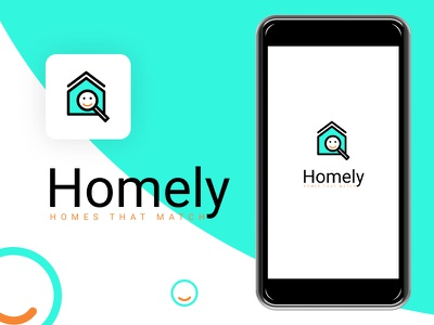 Mobile App - Homely : Helps in finding flats and ideal flatmates figmadesign apartment roommates uiux mobile app design ideal match flatmate flat