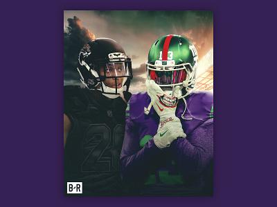 OBJ vs. Ramsey in Gotham hurstdzn bleacher report nfl jacksonville jaguars odell beckham jr hurst new york giants jalen ramsey odell beckham obj