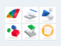 UI style guide icons