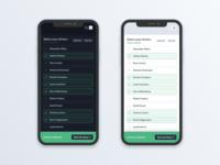 Select UI and Dark Mode