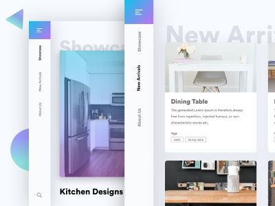Home Page - Interior Designing ui ux design website home screen homepage