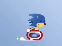 Running Cycle - SONIC THE HEDGEHOG