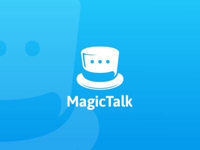 magic talk talk magic creative awesome inspiration company icon vector branding illustration graphic brand design logo