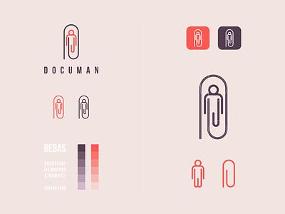 documan document creative concept clean simple design art simple modern simple logo icon vector awesome inspiration designer graphic brand branding logo illustration design