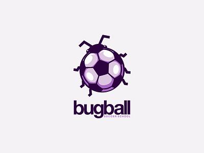 Bugball ui ux vector inspiration graphic brand logo branding illustration design