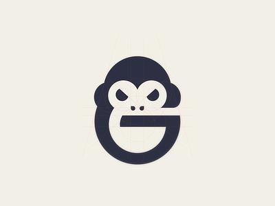 Gorilla ux ui vector inspiration graphic brand branding logo illustration design