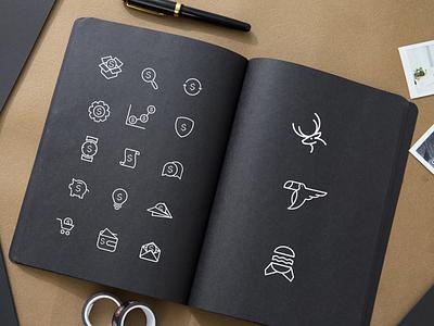 icon and logo ux vector ui inspiration graphic brand branding logo illustration design