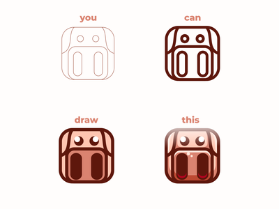 piggy ui ux vector inspiration graphic brand branding logo illustration design