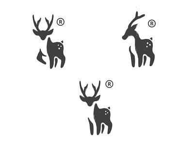 Deer logo concept creative logo clothing ux ui vector inspiration graphic brand branding logo illustration design