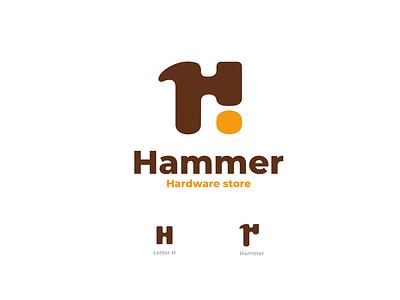 Hammer ux ui vector inspiration graphic brand design branding logo illustration