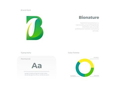Bionature ui ux vector inspiration graphic brand branding logo illustration design
